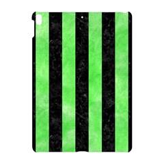 Stripes1 Black Marble & Green Watercolor Apple Ipad Pro 10 5   Hardshell Case by trendistuff