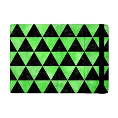 Triangle3 Black Marble & Green Watercolor Ipad Mini 2 Flip Cases by trendistuff
