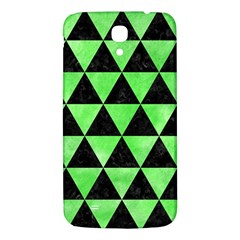Triangle3 Black Marble & Green Watercolor Samsung Galaxy Mega I9200 Hardshell Back Case