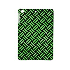Woven2 Black Marble & Green Watercolor Ipad Mini 2 Hardshell Cases by trendistuff
