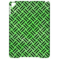 Woven2 Black Marble & Green Watercolor (r) Apple Ipad Pro 9 7   Hardshell Case by trendistuff