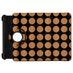Circles1 Black Marble & Light Maple Wood Kindle Fire Hd 7  by trendistuff
