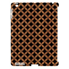 Circles3 Black Marble & Light Maple Wood Apple Ipad 3/4 Hardshell Case (compatible With Smart Cover) by trendistuff