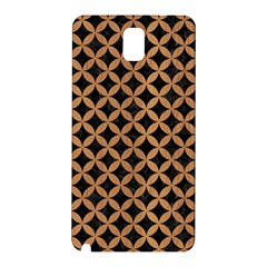 Circles3 Black Marble & Light Maple Wood Samsung Galaxy Note 3 N9005 Hardshell Back Case by trendistuff