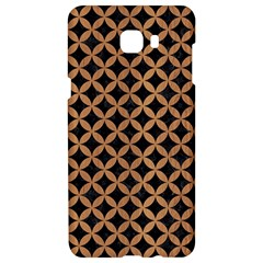 Circles3 Black Marble & Light Maple Wood Samsung C9 Pro Hardshell Case  by trendistuff