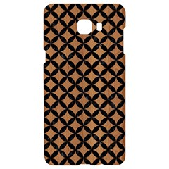 Circles3 Black Marble & Light Maple Wood (r) Samsung C9 Pro Hardshell Case  by trendistuff
