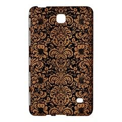 Damask2 Black Marble & Light Maple Wood Samsung Galaxy Tab 4 (7 ) Hardshell Case  by trendistuff
