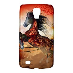 Awesome Creepy Running Horse With Skulls Galaxy S4 Active