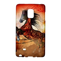 Awesome Creepy Running Horse With Skulls Galaxy Note Edge by FantasyWorld7