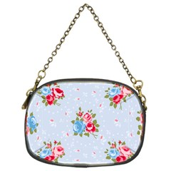 Cute Shabby Chic Floral Pattern Chain Purses (two Sides)  by 8fugoso