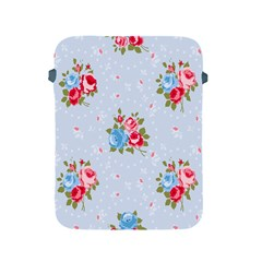 Cute Shabby Chic Floral Pattern Apple Ipad 2/3/4 Protective Soft Cases by 8fugoso