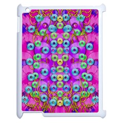 Festive Metal And Gold In Pop Art Apple Ipad 2 Case (white) by pepitasart