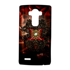 Wonderful Floral Design With Diamond Lg G4 Hardshell Case by FantasyWorld7