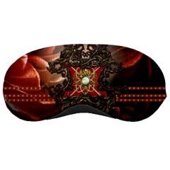 Wonderful Floral Design With Diamond Sleeping Masks by FantasyWorld7