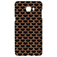 Scales3 Black Marble & Light Maple Wood Samsung C9 Pro Hardshell Case  by trendistuff