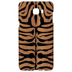 Skin2 Black Marble & Light Maple Wood (r) Samsung C9 Pro Hardshell Case  by trendistuff