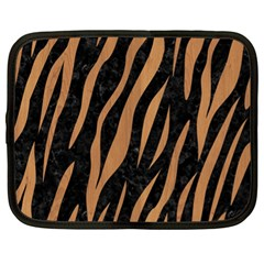 Skin3 Black Marble & Light Maple Wood Netbook Case (xl)  by trendistuff