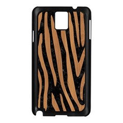 Skin4 Black Marble & Light Maple Wood (r) Samsung Galaxy Note 3 N9005 Case (black) by trendistuff