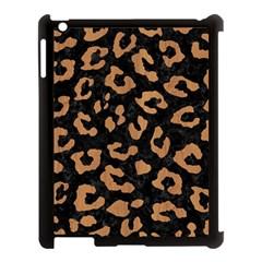 Skin5 Black Marble & Light Maple Wood (r) Apple Ipad 3/4 Case (black) by trendistuff
