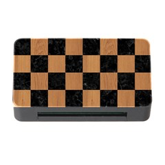 Square1 Black Marble & Light Maple Wood Memory Card Reader With Cf by trendistuff