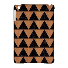 Triangle2 Black Marble & Light Maple Wood Apple Ipad Mini Hardshell Case (compatible With Smart Cover) by trendistuff