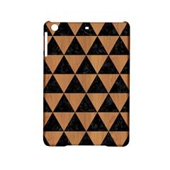 Triangle3 Black Marble & Light Maple Wood Ipad Mini 2 Hardshell Cases by trendistuff