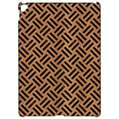 Woven2 Black Marble & Light Maple Wood (r) Apple Ipad Pro 12 9   Hardshell Case by trendistuff