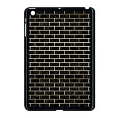 Brick1 Black Marble & Light Sand Apple Ipad Mini Case (black) by trendistuff