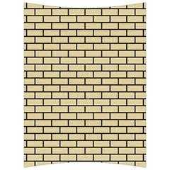 Brick1 Black Marble & Light Sand (r) Back Support Cushion by trendistuff