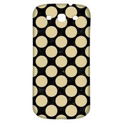 Circles2 Black Marble & Light Sand Samsung Galaxy S3 S Iii Classic Hardshell Back Case by trendistuff