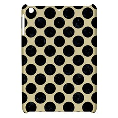 Circles2 Black Marble & Light Sand (r) Apple Ipad Mini Hardshell Case by trendistuff
