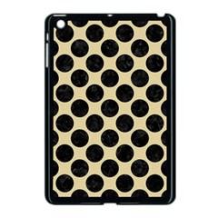 Circles2 Black Marble & Light Sand (r) Apple Ipad Mini Case (black) by trendistuff