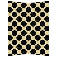 Circles2 Black Marble & Light Sand (r) Back Support Cushion by trendistuff