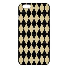 Diamond1 Black Marble & Light Sand Iphone 6 Plus/6s Plus Tpu Case by trendistuff
