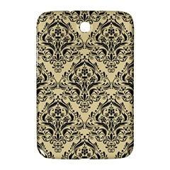 Damask1 Black Marble & Light Sand (r) Samsung Galaxy Note 8 0 N5100 Hardshell Case