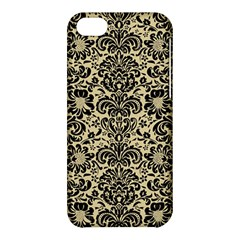Damask2 Black Marble & Light Sand (r) Apple Iphone 5c Hardshell Case by trendistuff