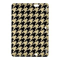 Houndstooth1 Black Marble & Light Sand Kindle Fire Hdx 8 9  Hardshell Case by trendistuff