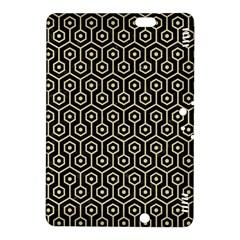 Hexagon1 Black Marble & Light Sand Kindle Fire Hdx 8 9  Hardshell Case by trendistuff