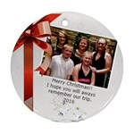 2016 Christmas - Ornament (Round)