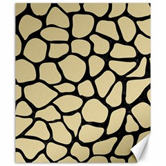 Skin1 Black Marble & Light Sand Canvas 20  X 24   by trendistuff