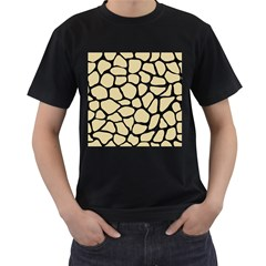 Skin1 Black Marble & Light Sand Men s T Shirt (black) by trendistuff