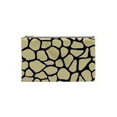 Skin1 Black Marble & Light Sand Cosmetic Bag (small)