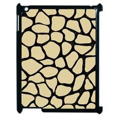 Skin1 Black Marble & Light Sand Apple Ipad 2 Case (black) by trendistuff