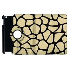 Skin1 Black Marble & Light Sand Apple Ipad 3/4 Flip 360 Case by trendistuff