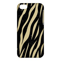 Skin3 Black Marble & Light Sand Apple Iphone 5c Hardshell Case by trendistuff