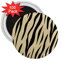 Skin3 Black Marble & Light Sand (r) 3  Magnets (100 Pack) by trendistuff