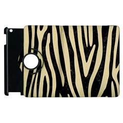 Skin4 Black Marble & Light Sand (r) Apple Ipad 3/4 Flip 360 Case by trendistuff