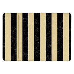 Stripes1 Black Marble & Light Sand Samsung Galaxy Tab 8 9  P7300 Flip Case by trendistuff