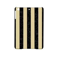 Stripes1 Black Marble & Light Sand Ipad Mini 2 Hardshell Cases by trendistuff