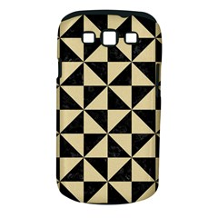 Triangle1 Black Marble & Light Sand Samsung Galaxy S Iii Classic Hardshell Case (pc+silicone) by trendistuff